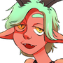 horny goat girl by pancakehell