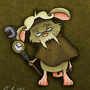 Grandfather Clock-Keeper by Wonchop
