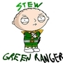 Stewie, the Green Ranger! by GreenRangerStew