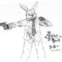 Rabbit (Alice is Dead tribute) by KKSlider60
