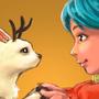 Hilda Fanart: Hilda and Twig