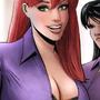 Mary Jane, Lois Lane by Ganworks