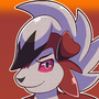 Lycanroc OwO (yesh, very creative title) by Hexami