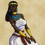 Itaweret the Egyptian Priestess