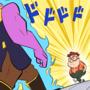 Thanos vs Carl by Regyman