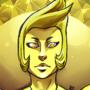 Yellow Diamond button