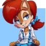 Comm: Schoolgirl Sally
