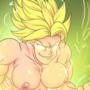 LSSJ Kale (topless)