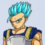 Cabba Redesign (Super Saiyan Blue)