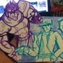 Some doodles of Jojo's Bizarre Adventure