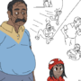 indian dad and daughter spider sona idea