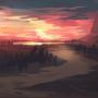 Landscape - comfort zone sketch