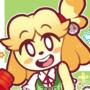 SmashBros Isabelle