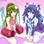 Tiki and Lucina (Neptunia cosplay)