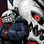 Sans and Gaster Blaster by voifont