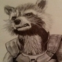 Rocket racoon by Charis246