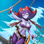 Risky Boots Pirate Queen