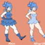 Crystal outfit sheet