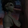 Sombra blowjob