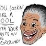 Morgan Freeman Ain't No Fool. by Spark-Pro