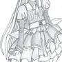 Anime Gothic Girl by cutekttie