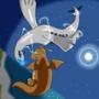 Lugia vs Dragonite