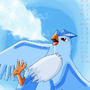 Articuno - ice beam