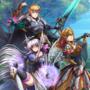 An Einherjar and his Valkyries