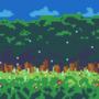 Pixel woods
