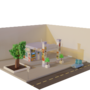 Non-accessible 3D Store
