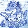 RoboSaurio by KanchiArdilla