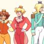 super mario princes by puckustheruckus