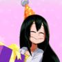 """tsuyu birthday thing """"old"""""""