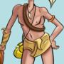 Caveman chillen