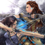 Aloy the Nora x Lara Croft