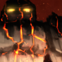 Wheelbarrow Warrior - Lava Golem
