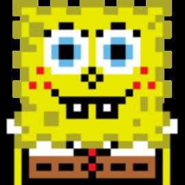 Spongebob Sprite By Depressedgengar On Newgrounds
