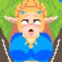 Zelda Meets a Bokoblin by NihiloEvie