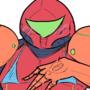 Samus Power Armor + bonus doodle