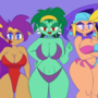 Shantae and Friends Swimsuit Season