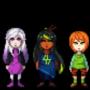 Original characters lineup