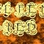 Elfen Lied Orange Wallpaper by Rawing