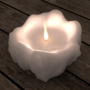 Practicing 3D by making a candle