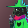 Ralsei used a gun (Deltarune)