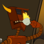 Ah, fire! [Robot Devil | Futurama]