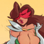 Salvadora - Tight Schedule - Cartoon PinUp Sketch Commission
