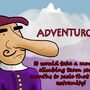 Cyrano Has A Big Nose by Kevin