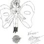 Silver Butterfly by YanoRazu