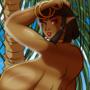 Elf Sahhara and Elegant Ink (Nude Version)