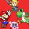 Paper Mario, Clay Kirby, Plushy Yoshi. . .